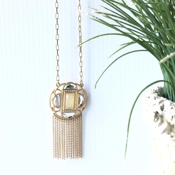 💝Lia Sophia Tassel Necklace Sparkle & Shine